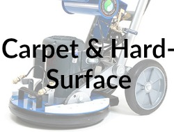 Carpet & Hard-Surface Cleaning Button