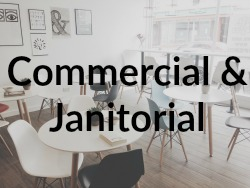 Commercial & Janitorial Button