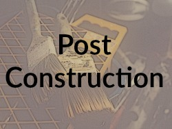 Post Construction Button